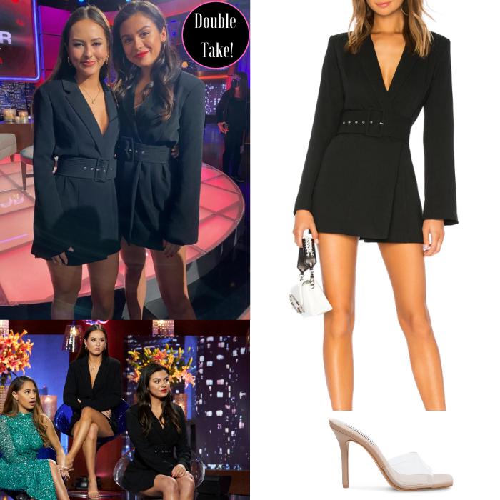 Abigail Heringer & Brittany Galvin's Black Blazer Dress