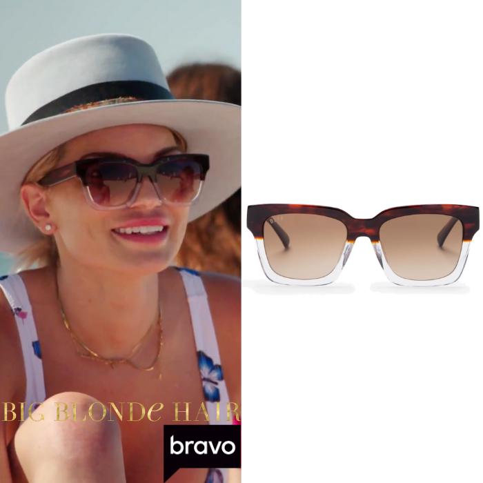 Lindsay Hubbard's Gradient Sunglasses