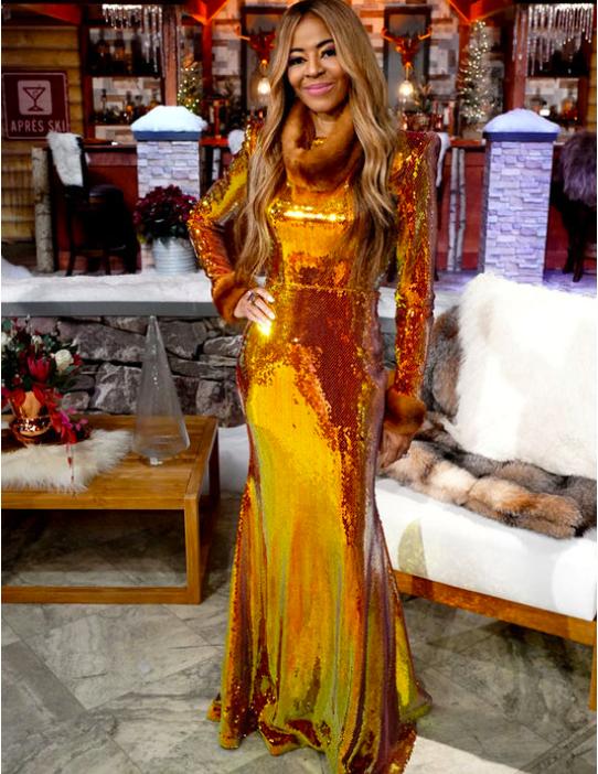 Mary Cosby's Season 1 Reunion Dress