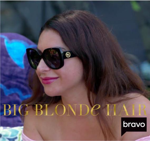 Jennifer Aydin's Black Sunglasses