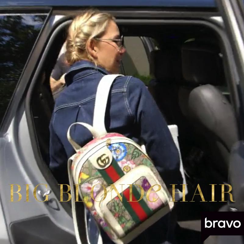 Kary Brittingham's Floral Backpack