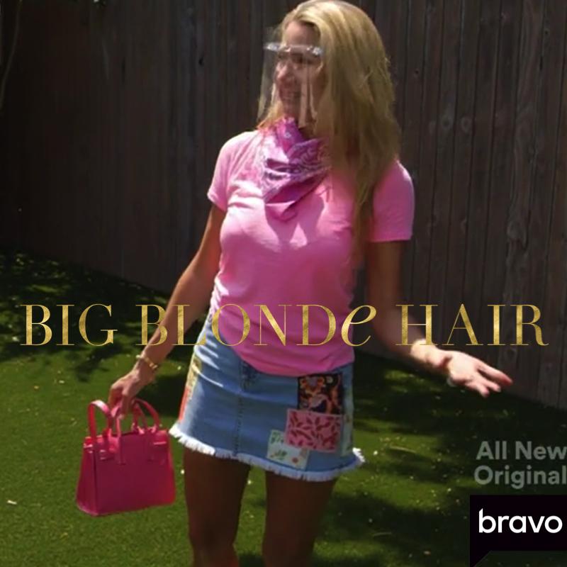 Kary Brittingham's Patched Denim Skirt