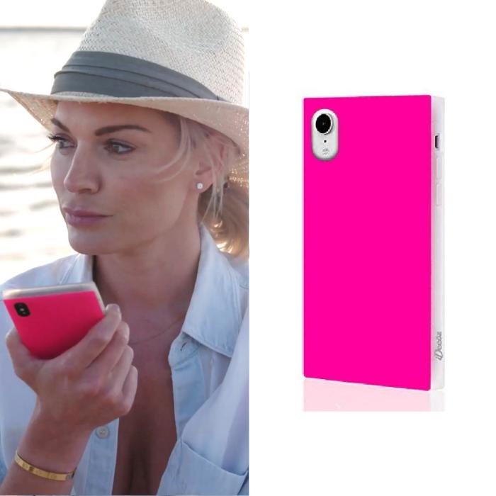 Lindsay Hubbard's Neon Pink Phone Case