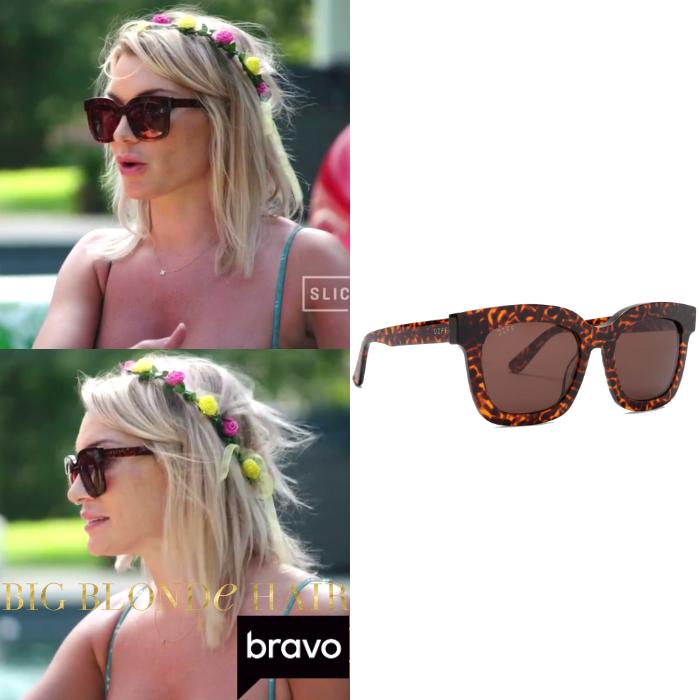 Lindsay Hubbard's Tortoise Square Sunglasses