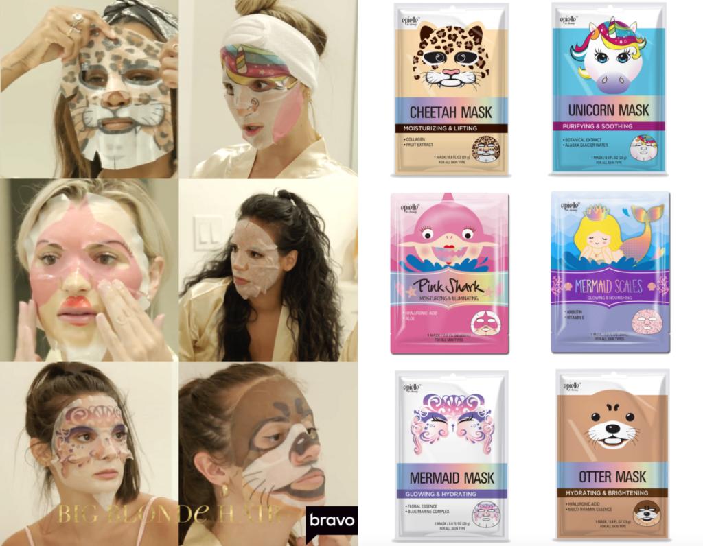 The Girls' Character Sheet Masks