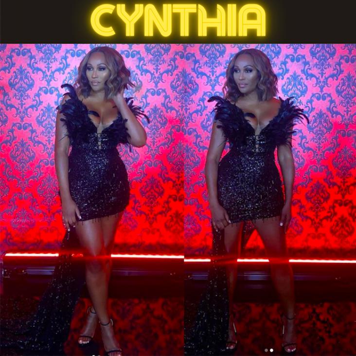 Cynthia Bailey's Season 13 Reunion Dress