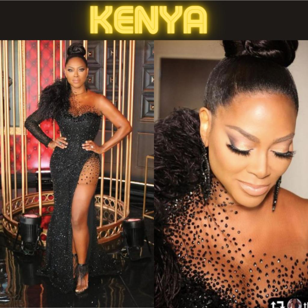 Kenya Moore's Season 13 Reunion Dress