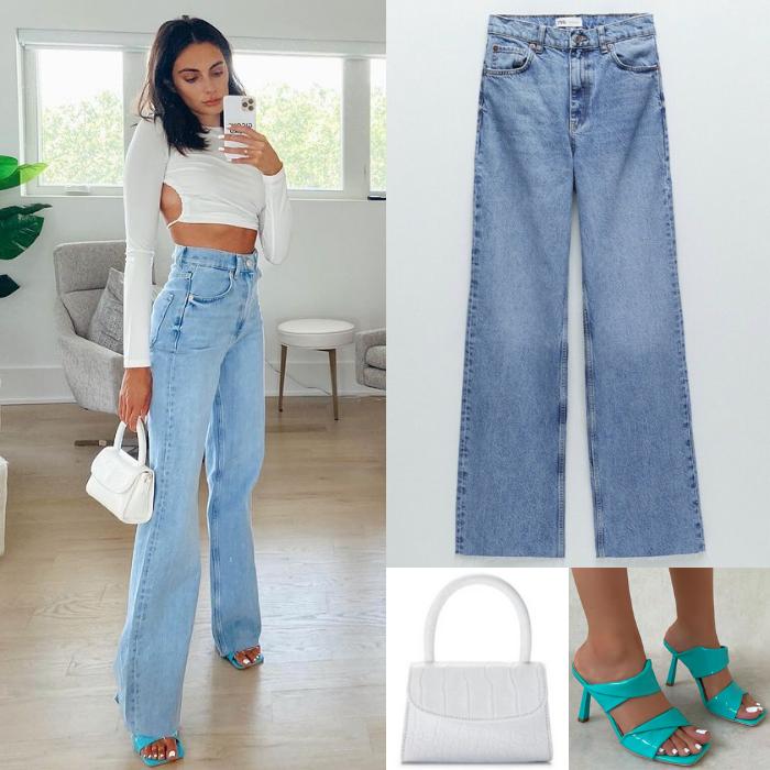 Paige DeSorbo's High Waisted Jeans