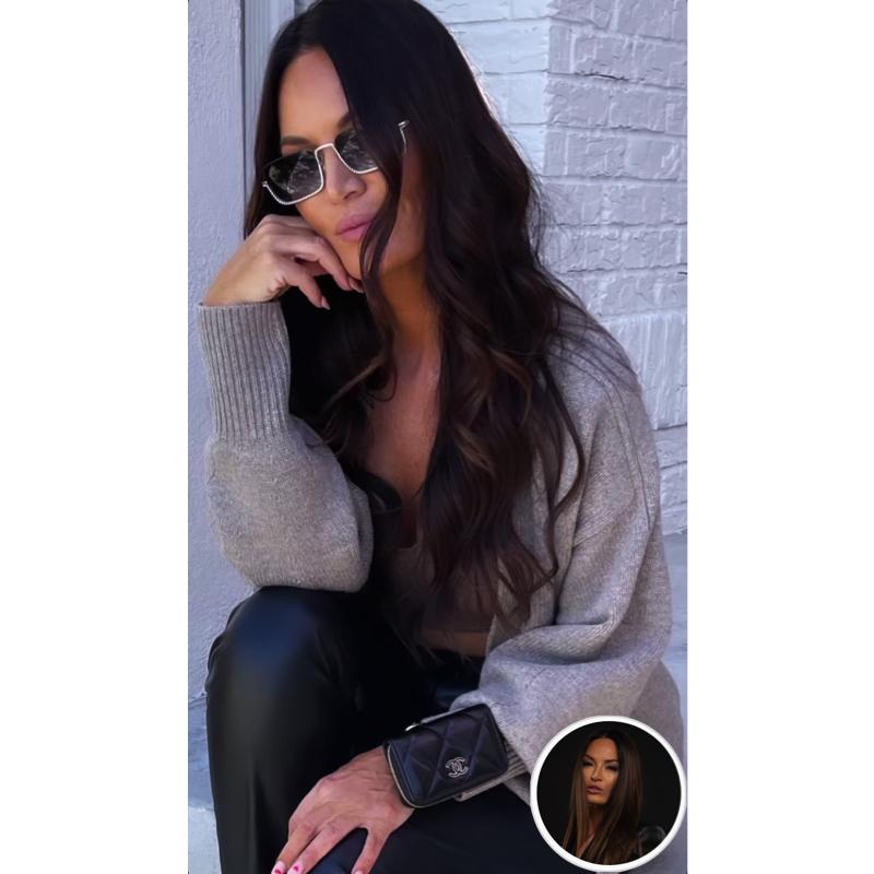 Lisa Barlow's Crystal Rim Sunglasses