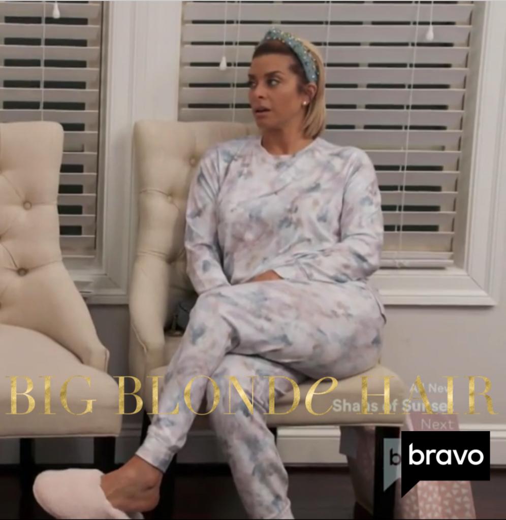 Robyn Dixon's Tie Dye Pajama Set