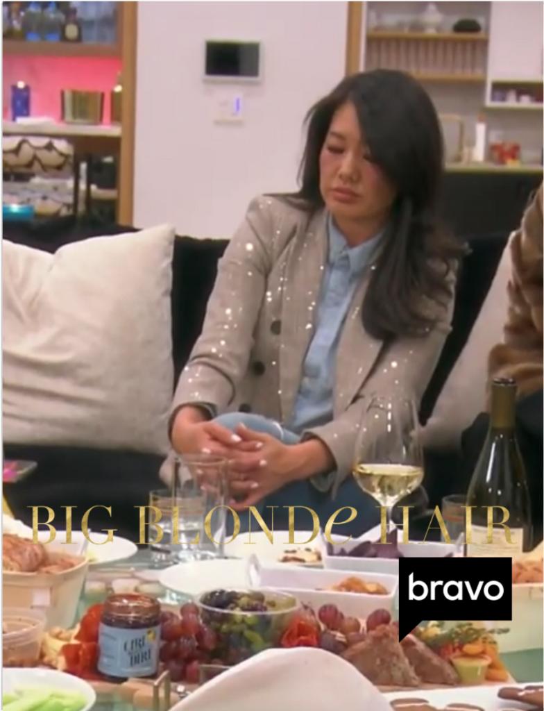 Crystal Kung Minkoff's Sequin Tweed Blazer