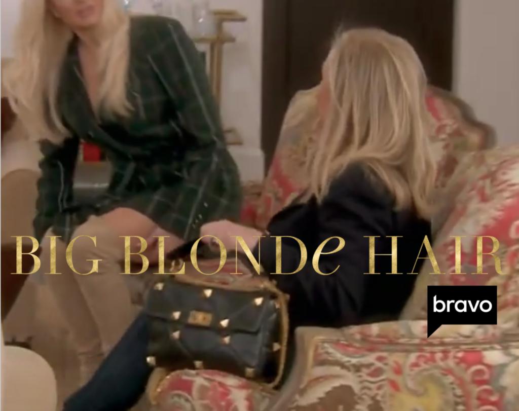 Kathy Hilton's Large Studded Top Handle Purse